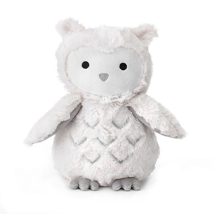 e54eb62b91d Lambs   Ivy® Luna Owl Plush Toy in White