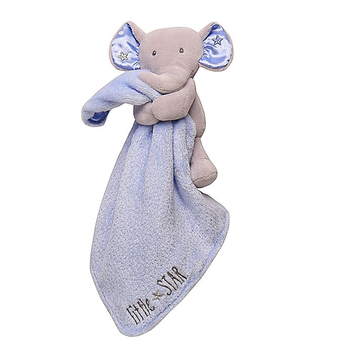 Alternate image 1 for Baby Starters® Elephant Snuggle Buddy with Blanket in Blue