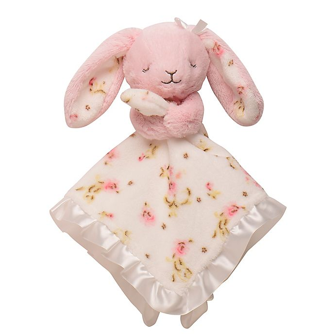 Alternate image 1 for Baby Starters® Bunny Rose Snuggle Buddy with Blanket in Pink
