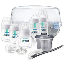 Philips Avent Essentials Anti-Colic Bottle Set in Clear
