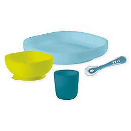 Beaba® 4-Piece Silicone Suction Meal Set