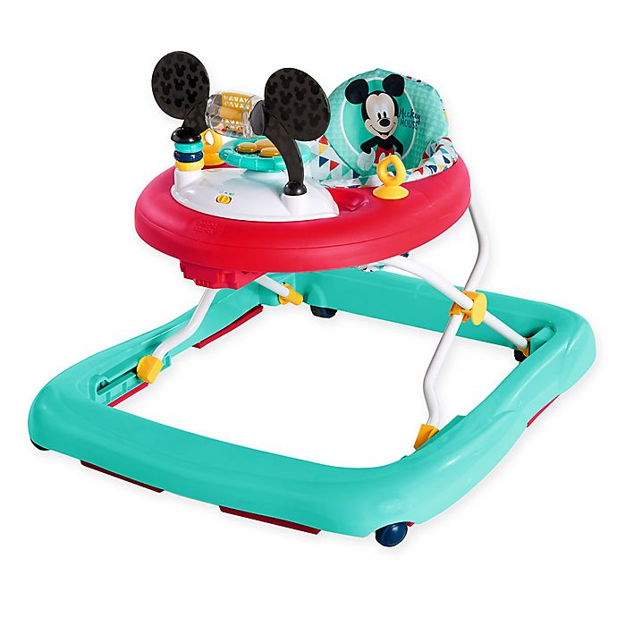 Alternate image 1 for Disney Baby™ Bright Starts™ MICKEY MOUSE Happy Triangles Walker™