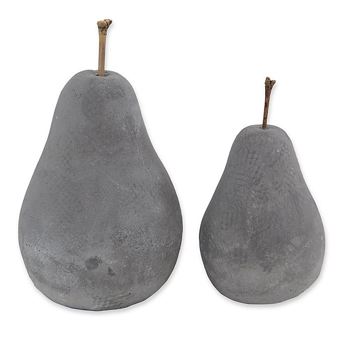 Alternate image 1 for Cement Pear Statue