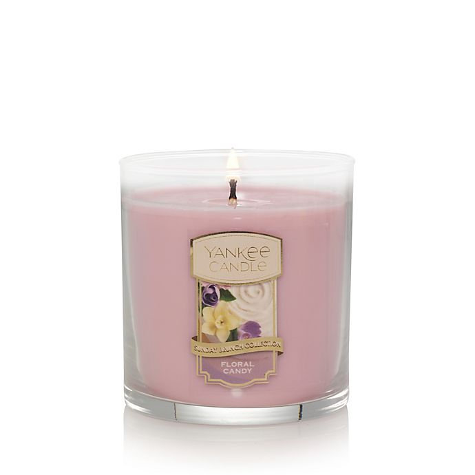 Alternate image 1 for Yankee Candle® Housewarmer® Floral Candy Small 2-Wick Tumbler Candle