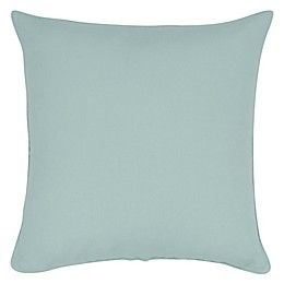 Aura Melange Linen Cotton 20-Inch Square Throw Pillow