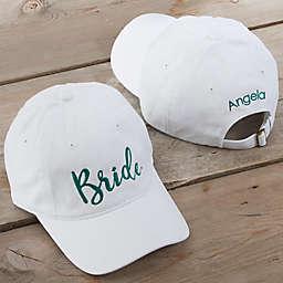 Bridal Party Embroidered Baseball Cap