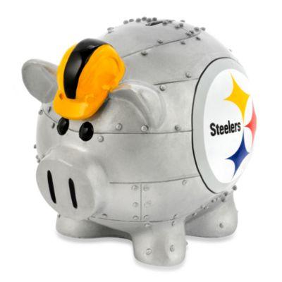 Nfl Pittsburgh Steelers Resin Piggy Bank Bed Bath Amp Beyond