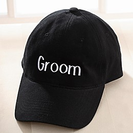 Our Wedding Party Embroidered Baseball Cap