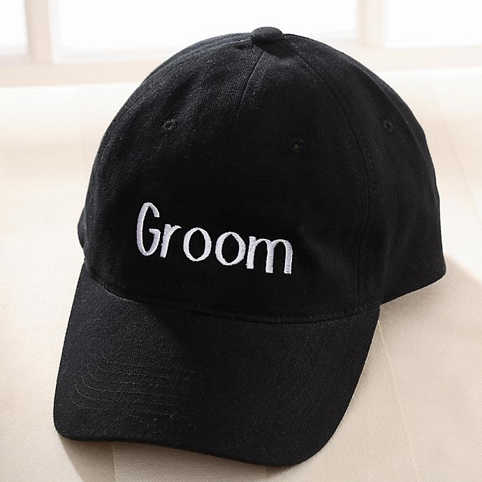 Alternate image 1 for Our Wedding Party Embroidered Baseball Cap