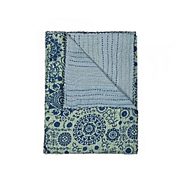 Kantha Cotton Throw