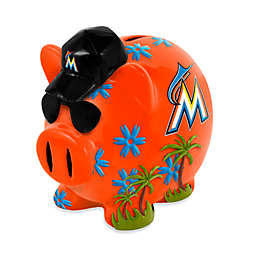 MLB Miami Marlins Resin Piggy Bank