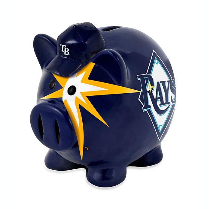 Alternate image 1 for MLB Tampa Bay Rays Resin Piggy Bank