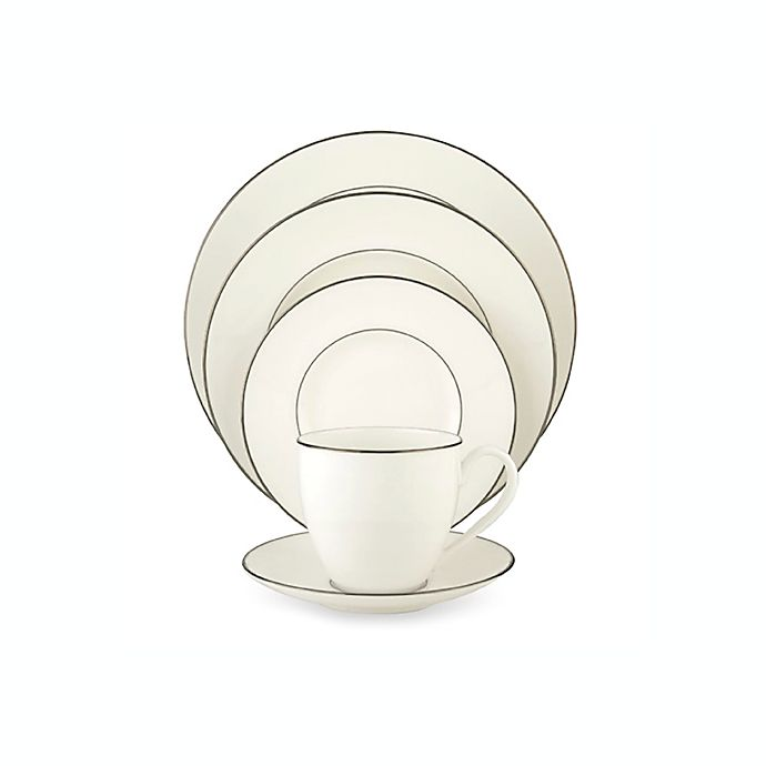 Alternate image 1 for Lenox® Continental Dining™ Platinum Dinnerware Collection