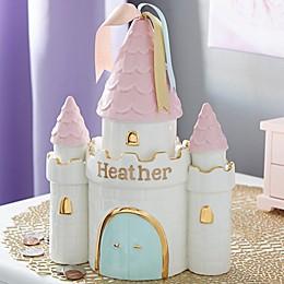 Princess Castle Personalized Piggy Bank
