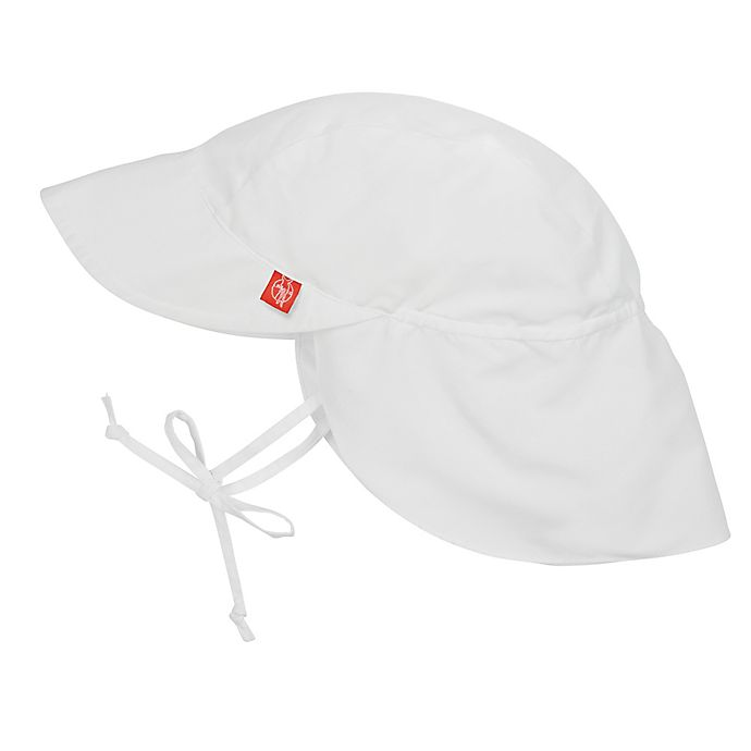Alternate image 1 for Lassig™ Sun Protection Flap Hat in White