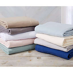 Great Bay Home Nordic Flannel Twin Sheet Set in Frost