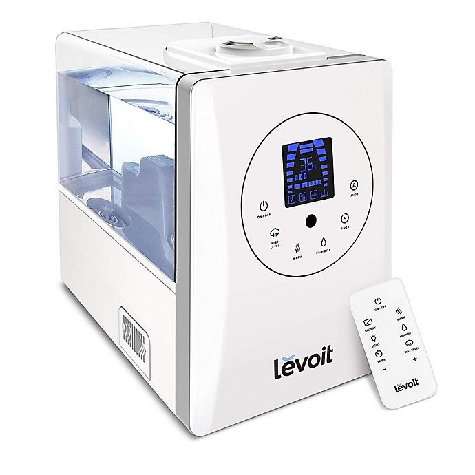 Alternate image 1 for Levoit 6-Liter Warm and Cool Mist Ultrasonic Humidifier in White