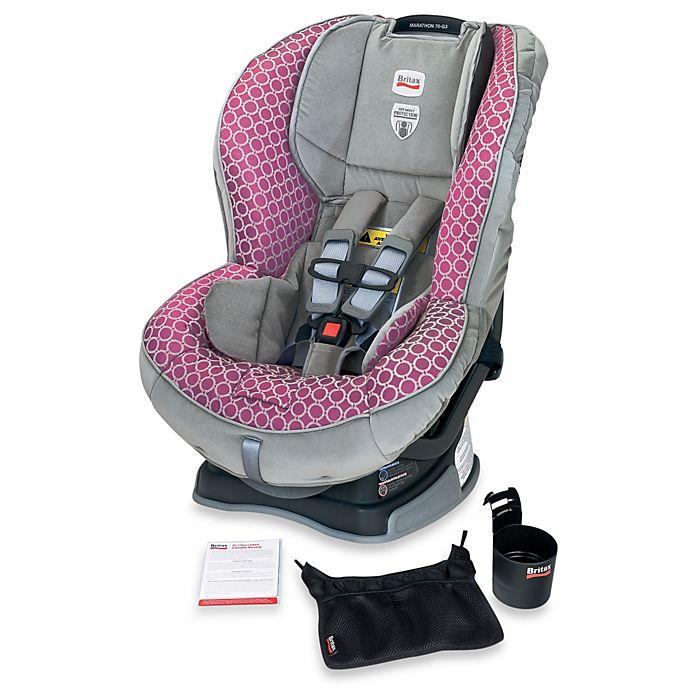 Britax Marathon 70 G3 Xe Convertible Car Seat In Pink