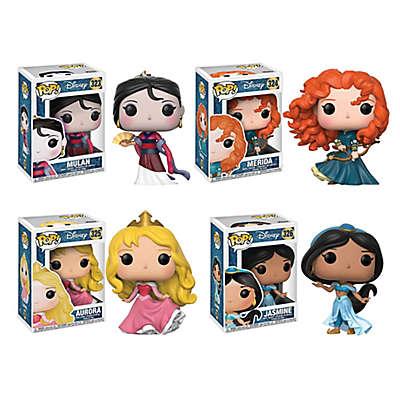Funko POP! 4-Pack Disney® Princess Collectors Figurines