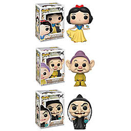 Funko POP! 4-Pack Disney Snow White and the 7 Dwarfs 80th Anniversary Collectors Figurines