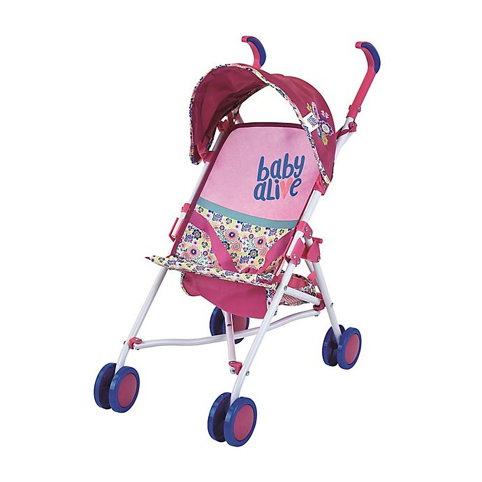 Alternate image 1 for Baby Alive Doll Stroller