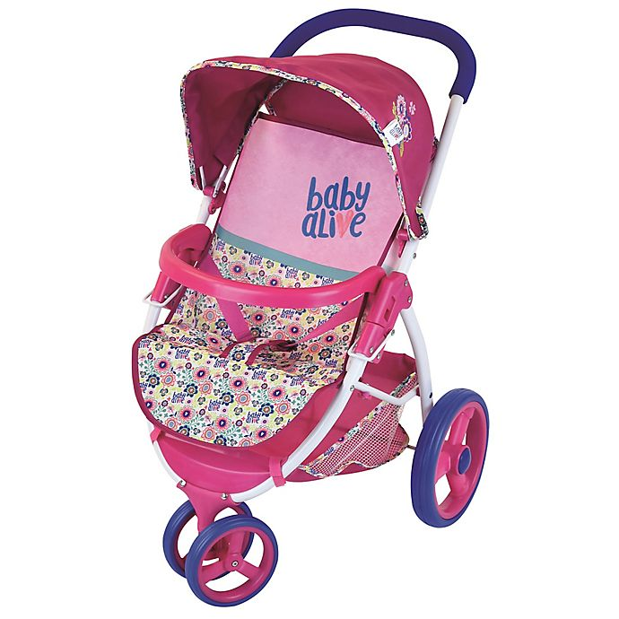 Alternate image 1 for Baby Alive Lifestyle Doll Stroller