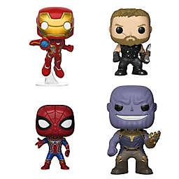 Funko POP! 4-Pack Marvel® Avengers Infinity War Collectors Set 1 Figurines