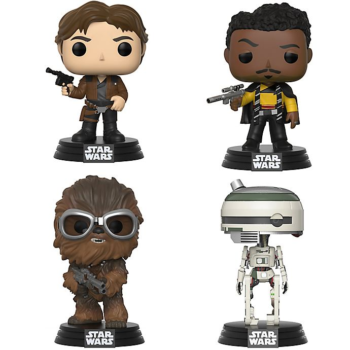 Alternate image 1 for Funko POP! 4-Pack Star Wars™ Solo: A Star Wars Story Collectors Figurines