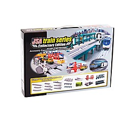 LEC USA 38-Piece Contemporary Train Expansion Set