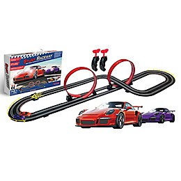Artin Stunt Raceway Slot Car Racing Set