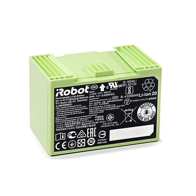 Alternate image 1 for iRobot® iSeries Replacement Lithium Ion Battery in Green