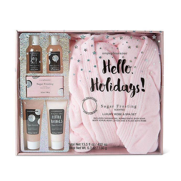 e97906d7b1d Lila Grace® Robe   Spa Gift Set in Vanilla Brown Sugar