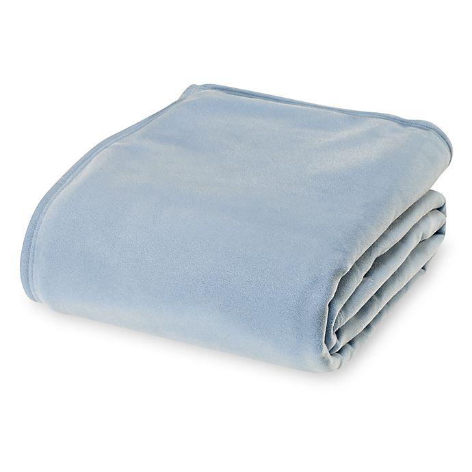 Alternate image 1 for Vellux Original King Blanket in Blue