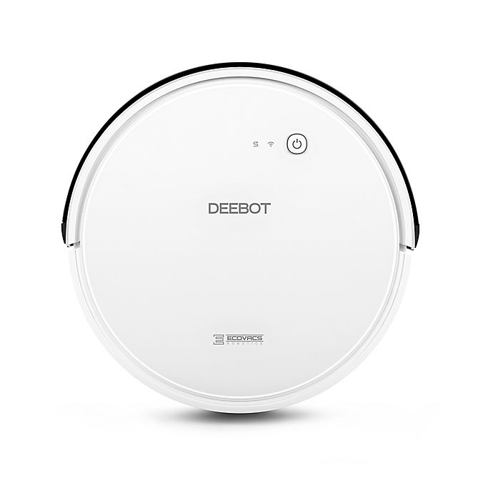 Alternate image 1 for ECOVACS DEEBOT D600 Smart Home Enabled Robot Vacuum in White