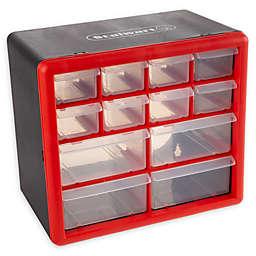Stalwart® Drawer Storage Organizer Box in Red