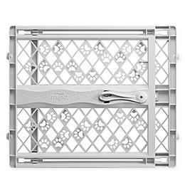 MyPet Tension-Mount Portable Pet Gate in Grey