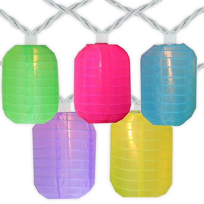 Chinese Lantern Multicolor Patio Lights