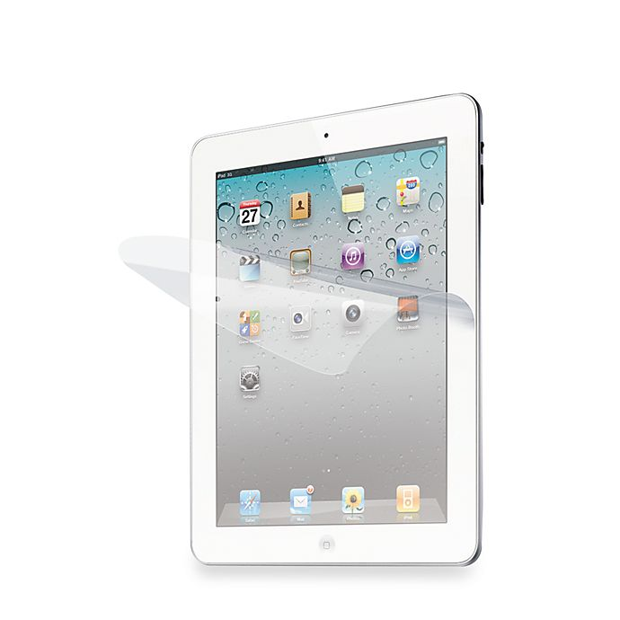 Alternate image 1 for iLuv® Glare-Free Screen Protectors for iPad® 3 and iPad® 2