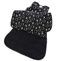 Gunamuna Gunapod® Newborn 5-Way Adjustable w/WONDERZiP in Black/White XO