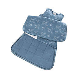 Gunamuna Gunapod® Newborn 5-Way Adjustable w/WONDERZiP in Blue Airplanes