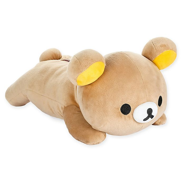 Alternate image 1 for Rilakkuma™ Laydown Bear Plush Toy in Brown