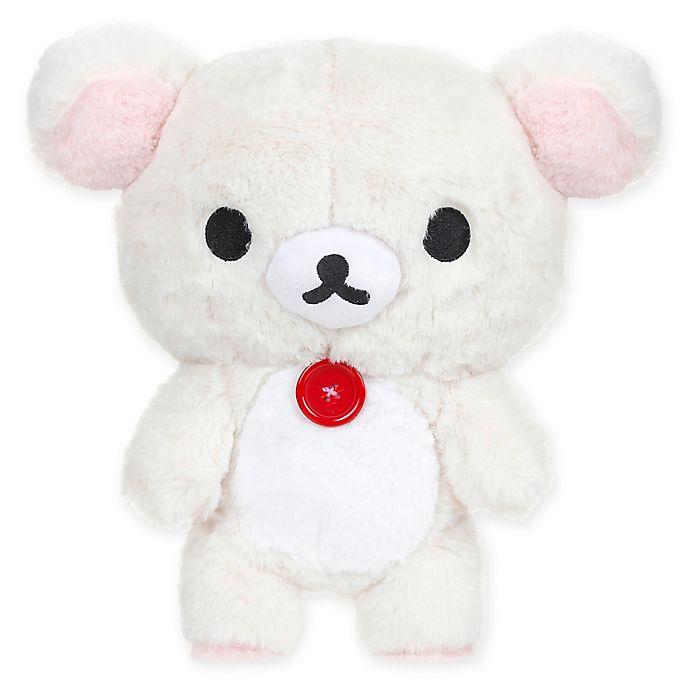 Alternate image 1 for Rilakkuma™ Standing Bear Medium Plush Toy in White