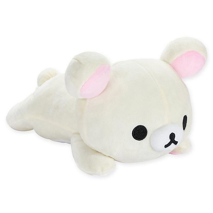 Alternate image 1 for Rilakkuma™ Laydown Bear Plush Toy in White