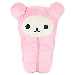 Rilakkuma™ Sleeping Bag Bear Plush Toy in Pink