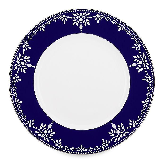 Alternate image 1 for Marchesa by Lenox® Empire Pearl Indigo Dinner Plate