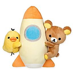 Rilakkuma™ Rocket Plush Toy in Brown