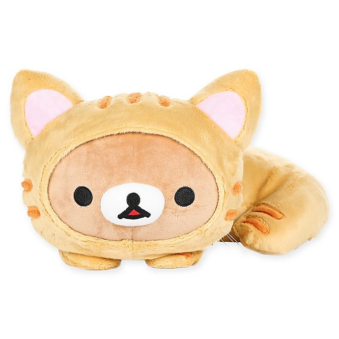 Alternate image 1 for Rilakkuma™ Bear Dressed as a Tiger Plush Toy in Brown