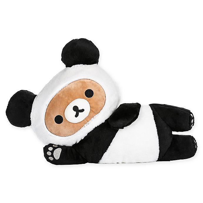 Alternate image 1 for Rilakkuma™ Tarepanda Laydown Plush Toy in Black/White