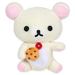 Rilakkuma™ Korilakkuma Eating Biscuit Plush Toy in White