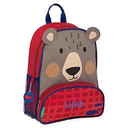 Stephen Joseph® Bear Sidekick Backpack in Light Grey